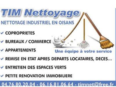 TIM-nettoyage